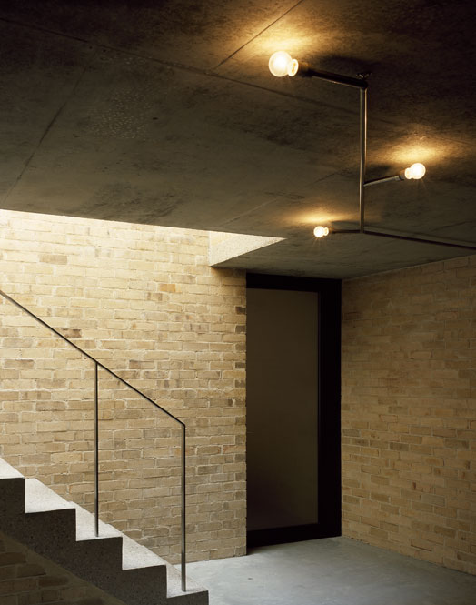 Brick House Caruso St John Architects Archaic