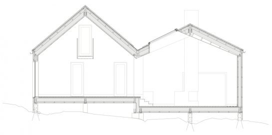533b7d81c07a80e62d000074_vega-cottage-kolman-boye-architects_section-1000x496