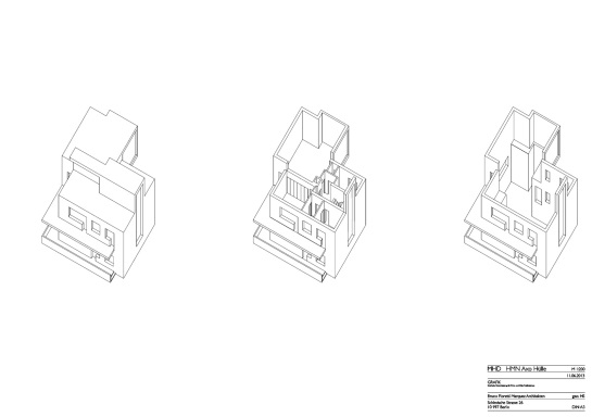 Reconstruction master houses dessau bruno fioretti for Pool design dessau