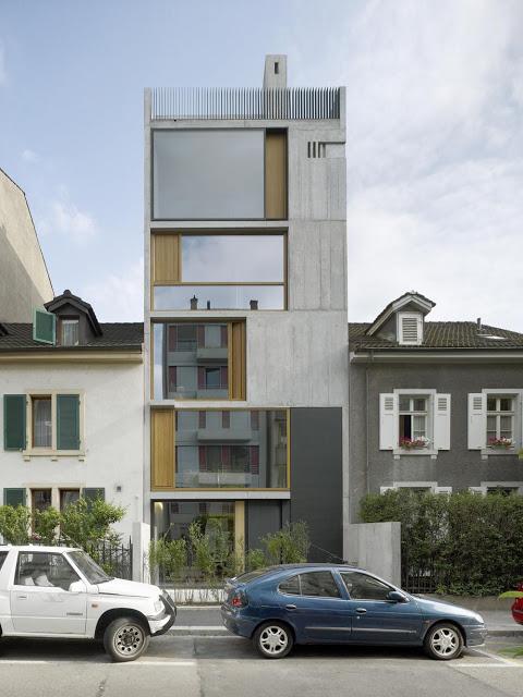 House in Basel by Buchner Bründler Architekten the-tree-mag 10