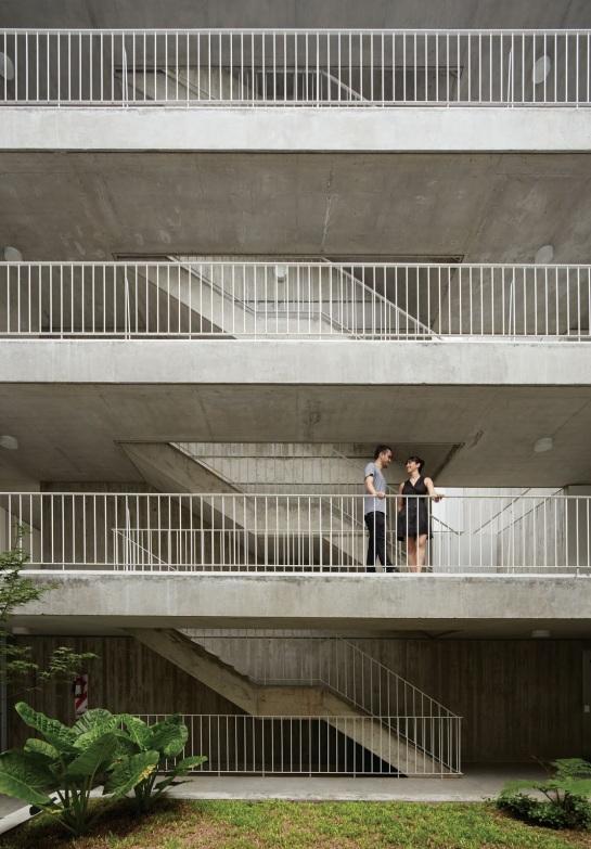 ESTEBAN-TANNENBAUM . Edificio de viviendas Sucre 4444 . Buenos Aires (11)