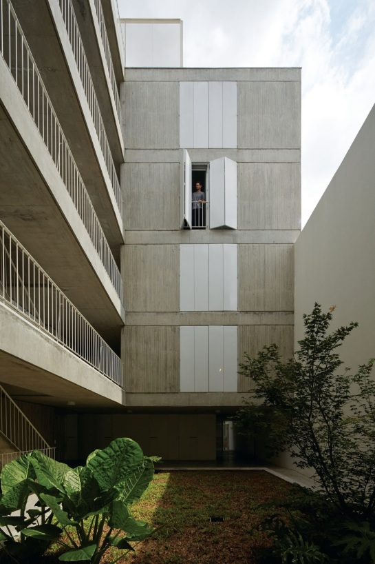 ESTEBAN-TANNENBAUM . Edificio de viviendas Sucre 4444 . Buenos Aires (14)
