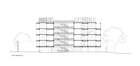 ESTEBAN-TANNENBAUM . Edificio de viviendas Sucre 4444 . Buenos Aires (34)