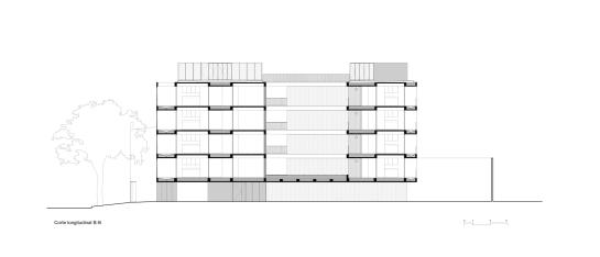 ESTEBAN-TANNENBAUM . Edificio de viviendas Sucre 4444 . Buenos Aires (35)