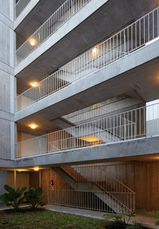 ESTEBAN-TANNENBAUM . Edificio de viviendas Sucre 4444 . Buenos Aires (7)